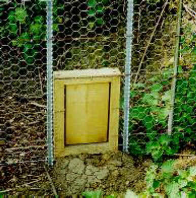 Photograph of a Badger Gate