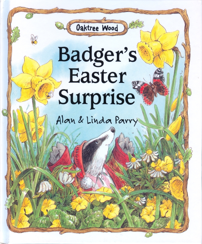 Children S Book Covers Alan Powers ~ Badger s easter surprise by alan and linda parry